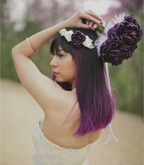 Acessório de cabelo para noiva