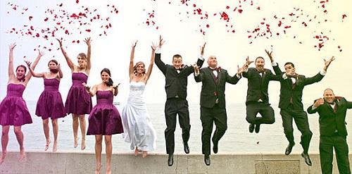 Os padrinhos de casamento devem ser escolhidos a dedo.