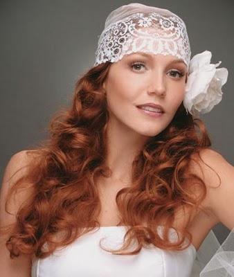 Acessórios para cabelos de noivas que querem casar sem véu