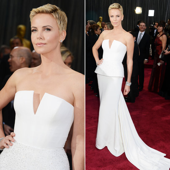 Vestido de madrinha de casamento Oscar 2013