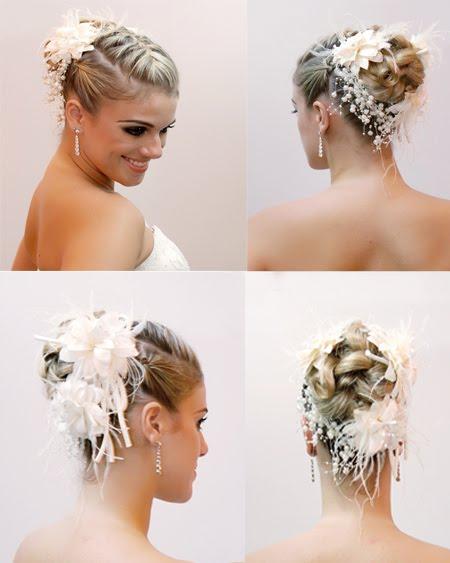 Acessórios para cabelos de noivas sem véu