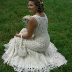 vestido de noiva para quem vai se casar no campo e quer algo mais simples.