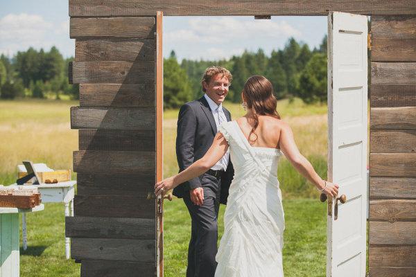 Uma porta fictícia pode ser instalada para causar um suspense maior nesse momento (Foto: Divulgação)