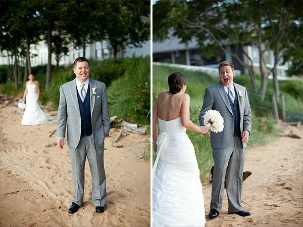 O 'first look' é simplesmente um momento único e diferenciado (Foto: Divulgação)