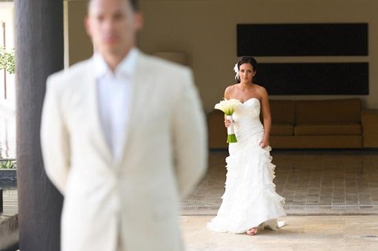 first look tenha emoções em seu casamento