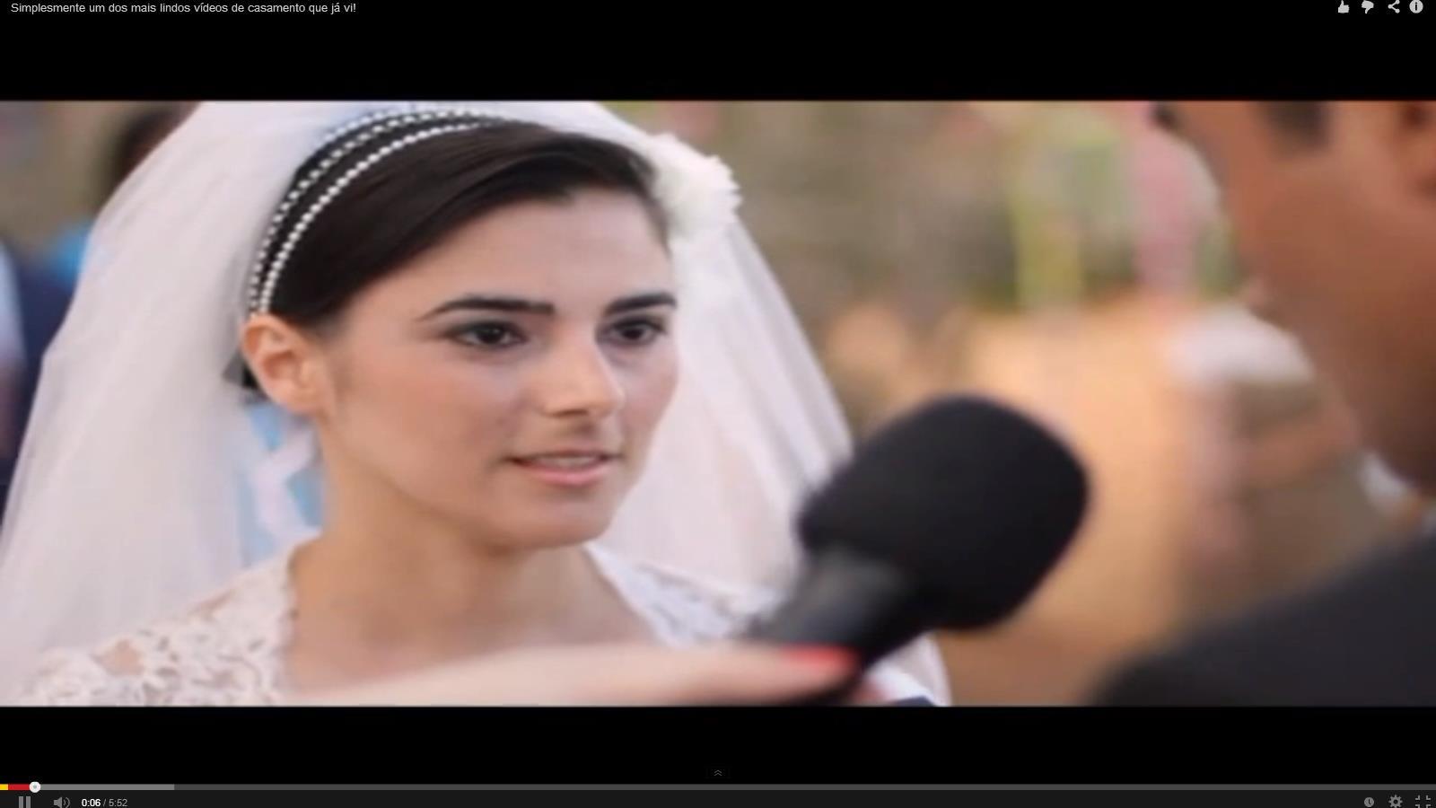 Casamento chama a atenção por simplicidade (Foto: Divulgação)