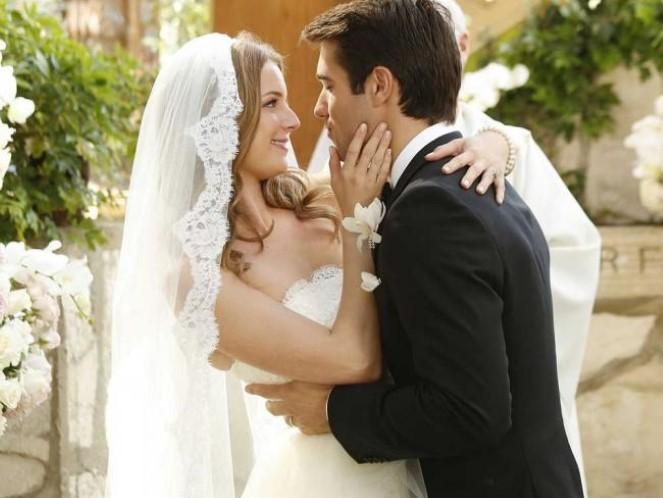 Casamento de Emily no seriado Revenge (Foto: Divulgação)