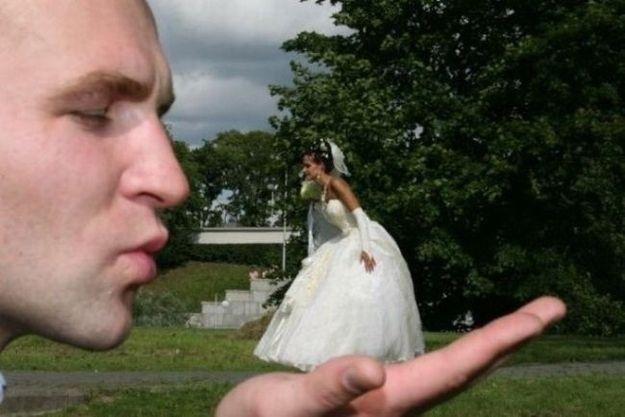 Fotos de casamento criativas