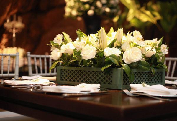 decoracao branca e verde para casamento : decoracao branca e verde para casamento:Decoração de casamento branco e verde10 – Help Casamentos