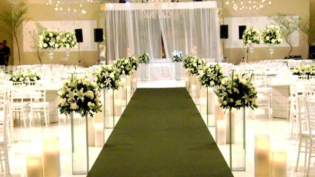Decoração de casamento branco e verde5  Help Casamentos -> Decoracao De Banheiro Para Festa De Casamento