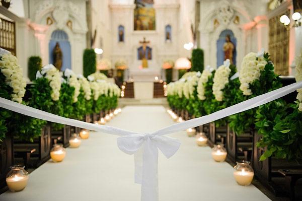 decoracao branca e verde para casamento:As flores dão um toque especial (Foto: Divulgação)