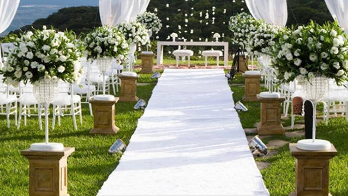 decoracao branca e verde casamento:Decoração de casamento branco e verde9 – Help Casamentos