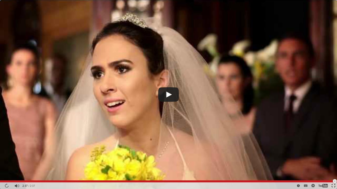 Tatá tem em vídeo sobre casamento (Foto: Divulgação)