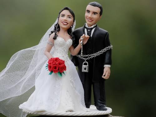 Mulheres que sente-se pressionada a emagrecer     acabam engordando mais depois do casamento (Foto: Divulgação)
