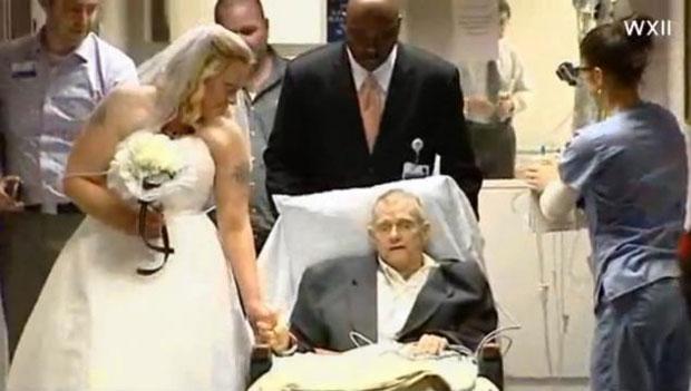 Casamento no hospital (Foto: Divulgação)