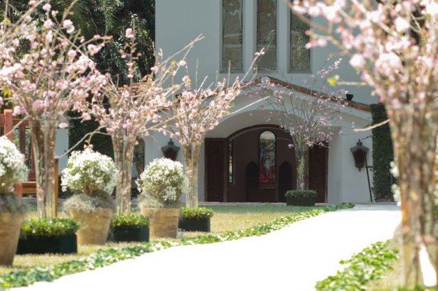 Pessoas querem casar mais em locais como esse da imagem e menos nas igrejas (foto: Divulgação)