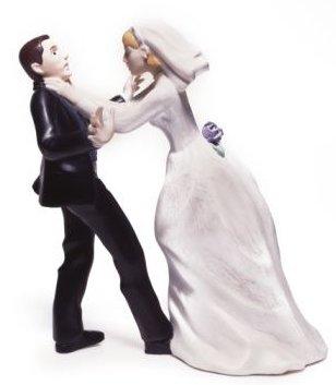 Noiva em fúria com o final do relacionamento (Foto: Divulgação)
