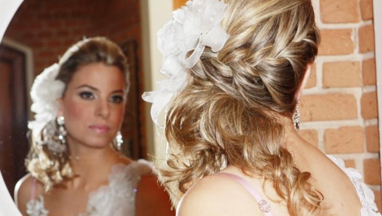 Penteado de casamento com trança (Foto: Divulgação)