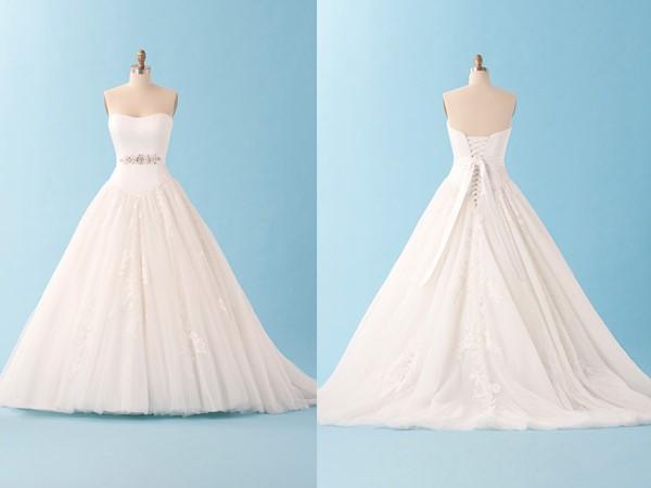 Vestido de noiva com saia bonita (Foto: Divulgação)