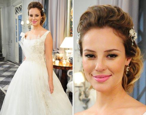 Modelos de vestido de noiva com vestido rodado (Foto: Divulgação)