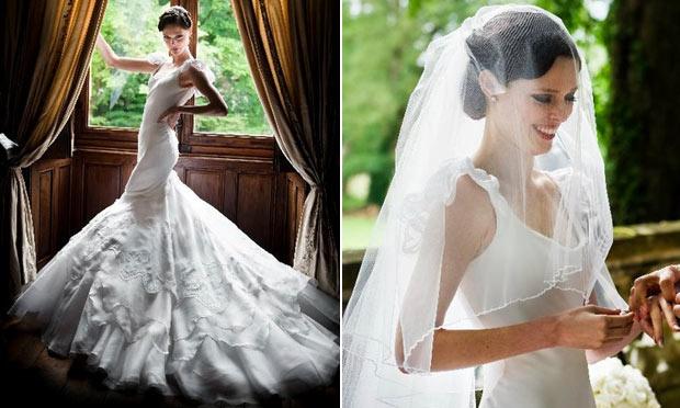 Vestido de noiva das famosas 15