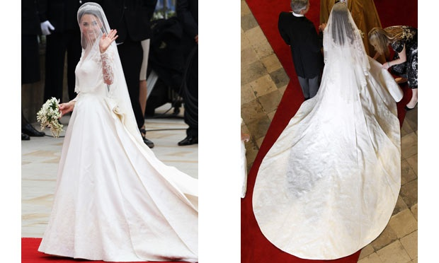 O casamento de Kate Middleton parou o mundo e seu vestido é muito copiado (Foto: Divulgação)