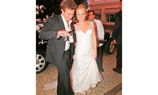 Angélica com o apresentador Luciano Huck (Foto: Divulgação)