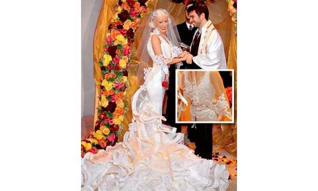 Christina Aguilera abusou dos babados (Foto: Divulgação)