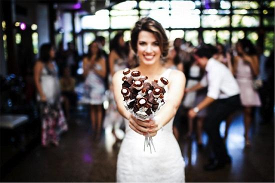 Bouquet de noiva de Santo Antônio (Foto: Divulgação)