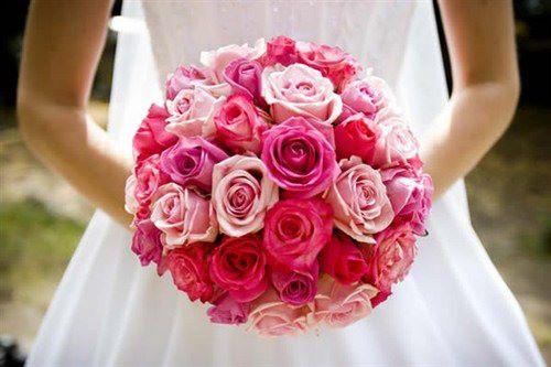 Bouquet de noiva de flores coloridas e diferenciada.