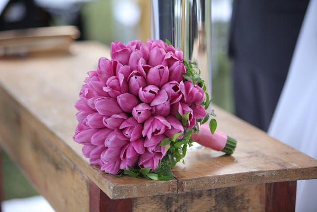 Bouquet de flores para noivas.