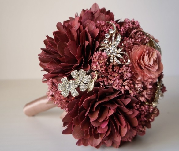 Bouquet de flores diferentes.