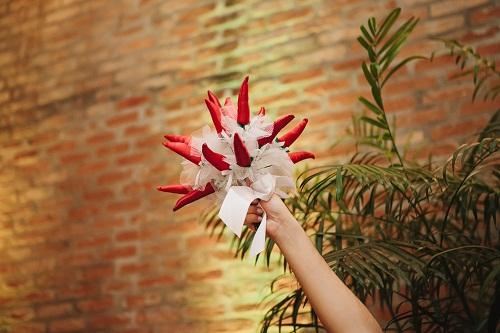 Bouquet de pimenta.