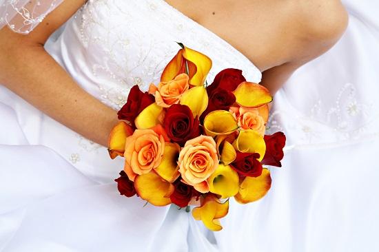 buquê de noiva maravilhoso