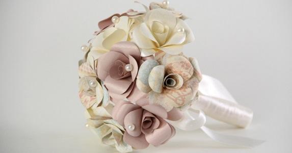 Buquê de noiva lindo e delicado
