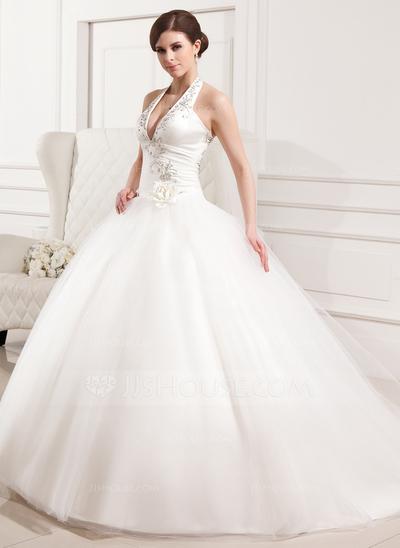 Vestido de noiva diferenciado.