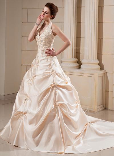 Vestido de princesa para casamento.
