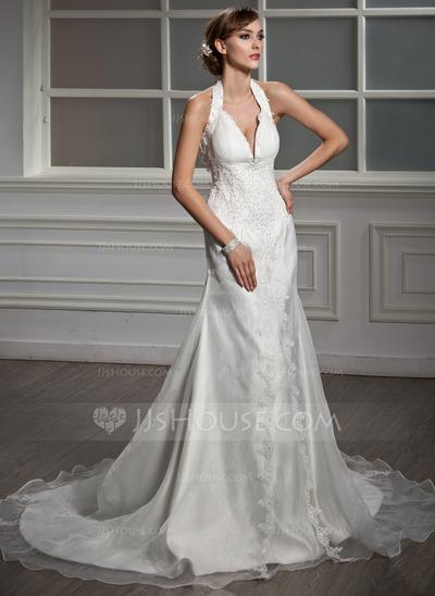 Vestido de noiva sereia.