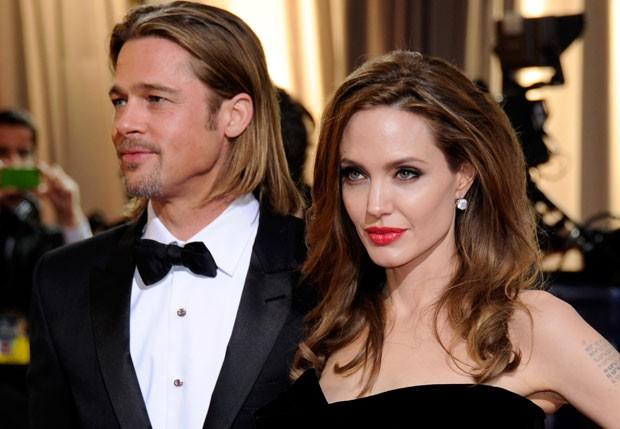 Casamento Angelina Jolie e Brad Pitt.