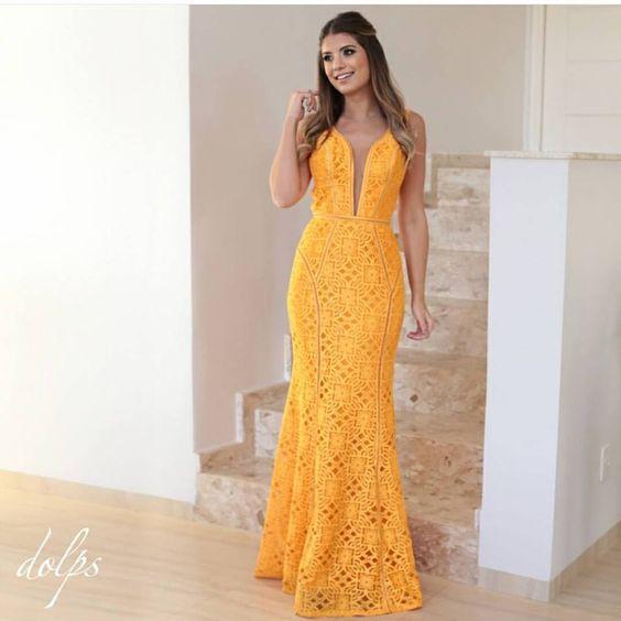 casamento amarelo : modelos e fotos