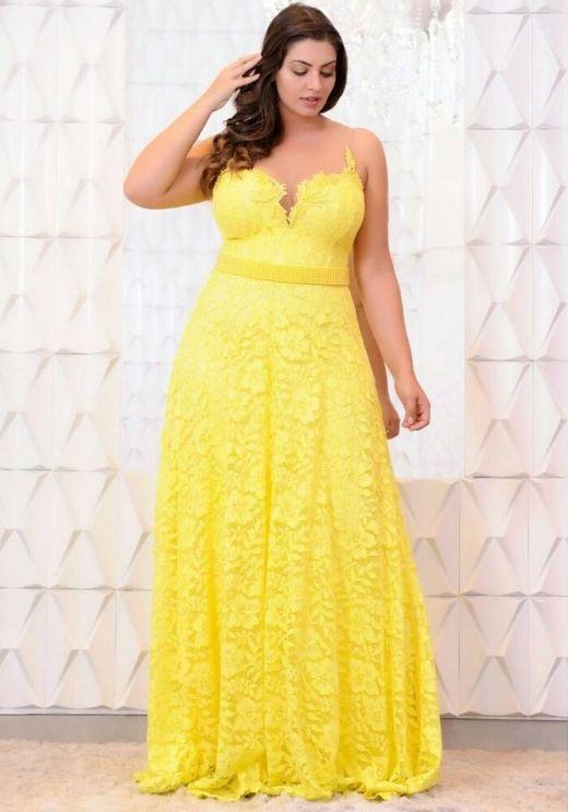 Vestido De Madrinha De Casamento Amarelo Modelos E Fotos