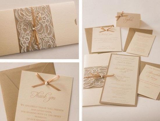 Convite de casamento lindo