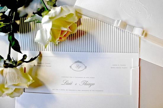 Convites de casamento podem ser delicados (Foto: Reprodução)