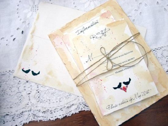 Veja como fazer um belo convite de casamento