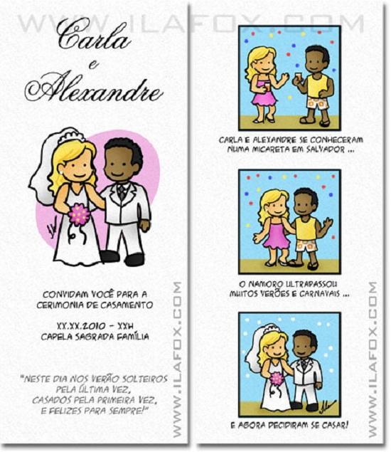Convite de casamento, modelos e convites