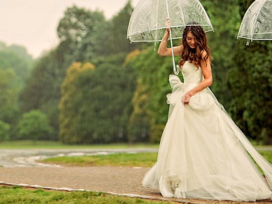 Chuva no casamentos