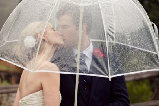 Casamento com chuva pode não ser uma opção