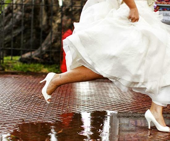 Empresa garante barrar chuva no dia do casamento de seus clientes