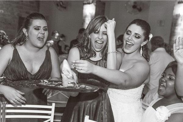 Foto casamento preto e branco Anderson Stenico