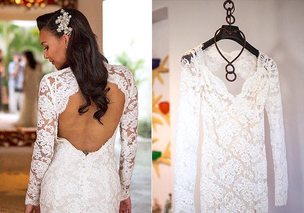 Vestido de noiva modelos